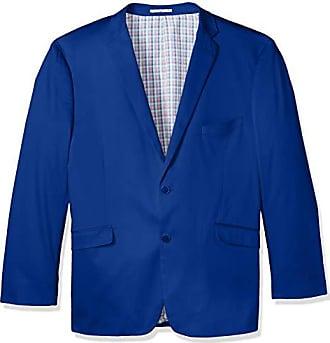 U.S.Polo Association Mens Big and Tall Stretch Cotton Sport Coat, Royal Blue, 54 Long