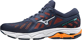 Mizuno Mens Wave Ultima 11, Running Shoes, Blue (MoodIndigo/ArcticIce/S.Orange 20), 11.5 UK