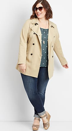Maurices Plus Size - Button Down Trench Coat