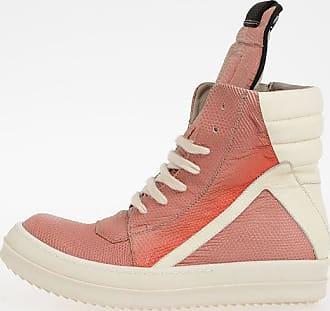 Rick Owens Leather GEOBASKET LIZARD Sneakers Größe 38