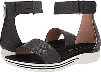 1c9188257808 Adrienne Vittadini Footwear Womens Carlos Sandal Black 7.5 M US