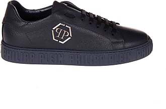 Philipp Plein Mens Sneakers Low Top Dark Blue Size 39 EU