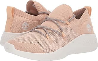 Timberland FlyRoam Go Oxford (Light Beige Knit 2) Womens Lace up casual Shoes