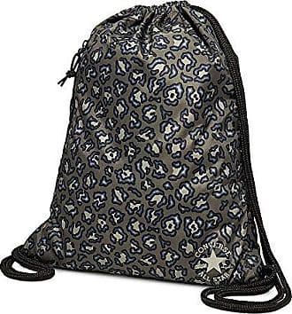 163156961948b Converse Unisex Turnbeutel Cinch Bag Heritage Topo Leopard (Leopard Print)