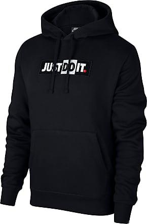 Nike NSW JDI FLC Hoodie Herren in black, Größe XL
