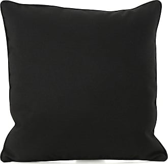 BEST SELLING HOME Coronado Outdoor Square Water Resistant Pillow Black - 300727