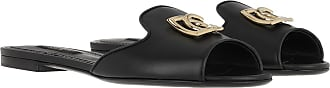 Dolce & Gabbana Loafers & Slippers - Bianca Slides Black - black - Loafers & Slippers for ladies