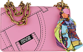 Versace Jeans Couture Cross Body Bags - Flap Chain Crossbody Leather Rosa - rose - Cross Body Bags for ladies
