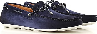 Santoni Mocassini Uomo On Sale, Midnight Blue, Scamosciato, 2019, 38.5 39.5 40 41 42 42.5 43 44.5 46
