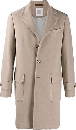 Eleventy single-breasted coat - Neutro