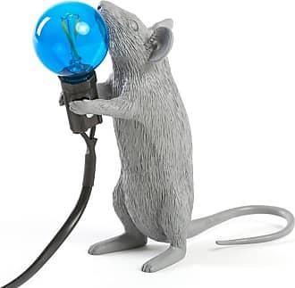 Seletti Mouse Gray Lamps Standing Lampada da Tavolo