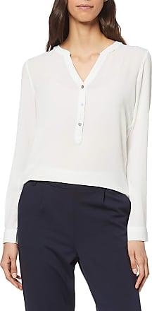 Jacqueline de Yong JdY womens Plain Long Sleeve Blouse, White (Cloud Dancer), 10 (Manufacturer Size: 38)
