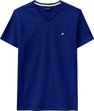 Enfim Camiseta Slim, Enfim, Masculina, Azul, GG