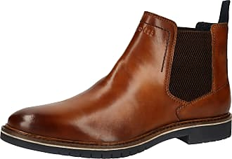 Bugatti Mens 311837313500 Chelsea Boot, Black, 6 UK