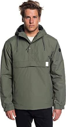 Quiksilver Tazawa - Water-Resistant Hooded Anorak - Men - L - Brown