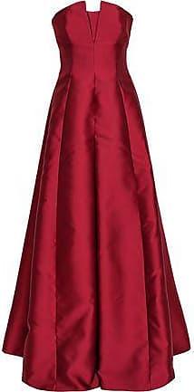 86c698d0f61fe Alberta Ferretti Alberta Ferretti Woman Strapless Faille Gown Brick Size 38