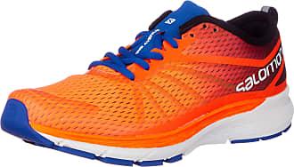 Salomon Mens Sonic RA PRO Trail Running Shoes, Orange Shocking Orange Surf The Web Acid L 000, 9 UK