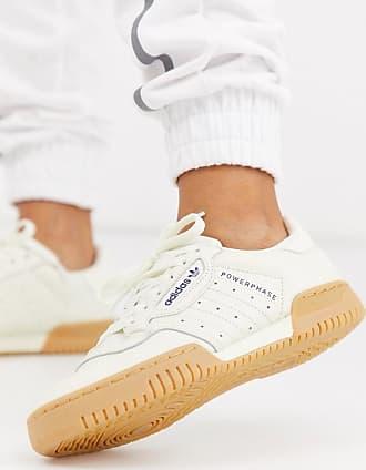 adidas Originals Powerphase - Sneaker in gebrochenem Weiß