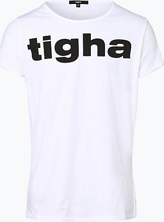Tigha Herren T-Shirt weiss