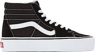 Noir Femmes Hi Damier Chaussures Primaire Vans Platform Sk8