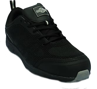 Northwest Territory Mens Black Jackson Steel Toe Cap Safety Trainers Shoes UK 10
