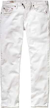 Levi's Levi Strauss Herren Jeans-Hose Regular Tapered Weiß einfarbig