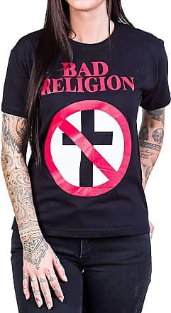 Bandalheira Camiseta Bad Religion Logo Álbum Preta - UNISSEX