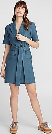 Icone Linen-cotton blazer dress