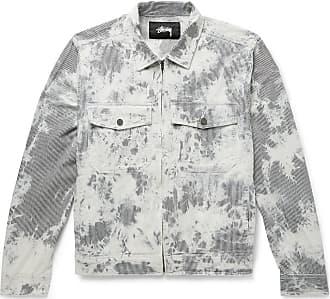 Stüssy Tie-dyed Denim Jacket - Gray