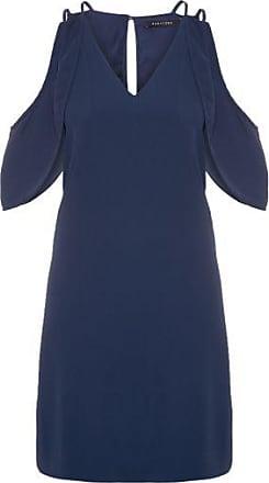 Bobstore Vestido Curto Ombro Bobstore - Azul