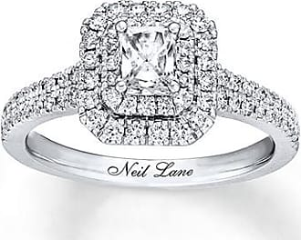Neil Lane Engagement Ring 7/8 ct tw Diamonds 14K White Gold