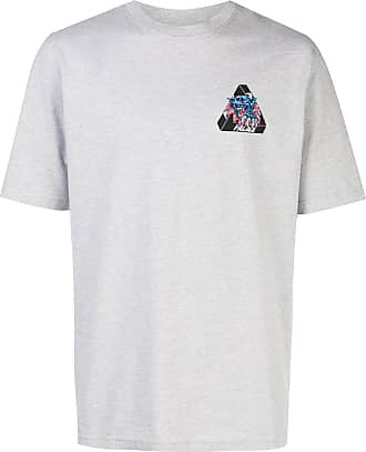 Palace Ripped T-Shirt - Grau