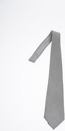 Armani COLLEZIONI Cravatta in Seta a Righe taglia Unica