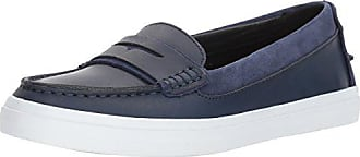 0ffb9a493dc Cole Haan Womens Pinch Weekender LX Penny Loafer Marine Blue Vachetta 6.5 B  US