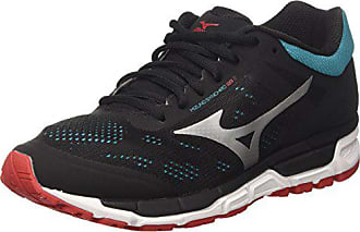 best service a7b01 ede4f Mizuno Synchro MX, Chaussures de Running Homme, Multicolore  (Black chinesered tileblue