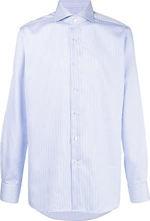 Xacus pinstripe button down shirt - White