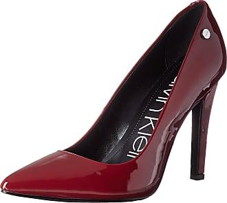 Calvin Klein Womens Brady Pump, Red Rock Patent, 5 UK