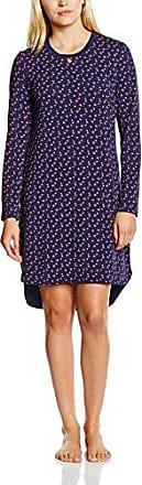 879b90e54aa0a9 Seidensticker Damen Nachthemd Sleepshirt 1/1 Blau (dunkelblau 803) 38  (Herstellergröße: