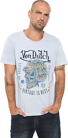 Von Dutch Camiseta Von Dutch Vintage Best Cinza