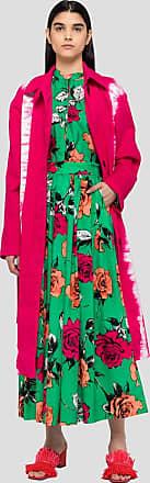 Msgm roses print long skirt