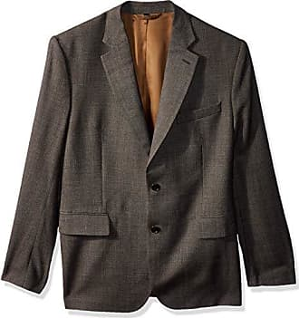 J.Lindeberg Mens Italian Wool Blazer, Dark Grey, 52