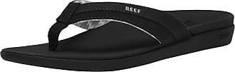 Reef Womens Ortho-Bounce Coast Flip-Flop, Black, 6.5 UK 7