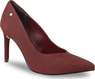 Tanara Sapato Scarpin Tanara Feminino Recorte Em V Com Textura