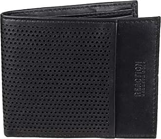 Kenneth Cole Reaction Mens RFID Security Blocking Slimfold Wallet, black, One Size