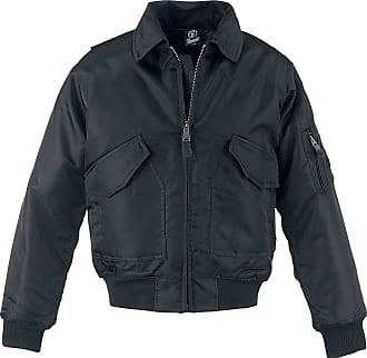 Brandit Mens CWU Jacket, Black, XXXXXL