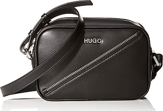 HUGO BOSS Leyton Crossbody, Womens Cross-Body Bag, Black, 6x12.5x18.5 cm (B x H T)