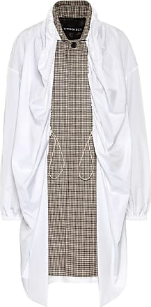 Y / Project Layered houndstooth coat