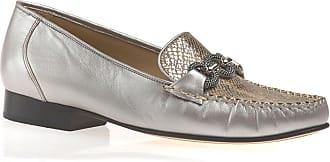 Van Dal Womens Bethany Loafers 2001820 Sand/Metallic 7 UK, 41 EU