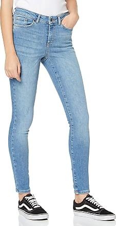 Vero Moda Womens Vmteresa Mr Skinny JNS Ba362 Noos Jeans, Blue (Light Blue Denim Light Blue Denim), 34W / 32L