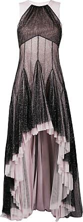 Philosophy di Lorenzo Serafini pleated hem glitter gown - PINK